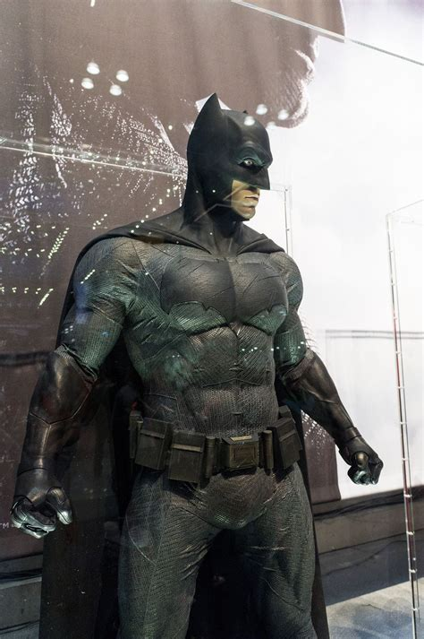 Get up close and personal with Batman v Superman costumes