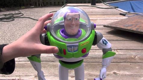 Buzz lightyear Talking Action Figure Review (#2) - YouTube