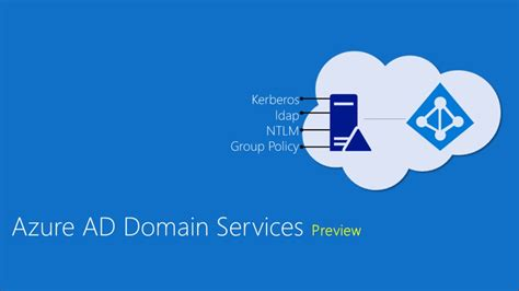 Azure AD Domain Services preview | Active Directory and