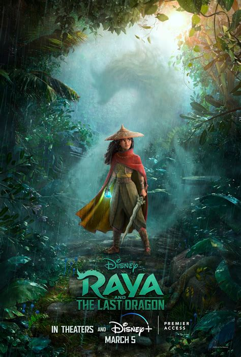 Raya and the Last Dragon Movie Poster - #573263